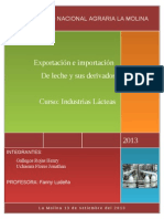 Exportacion de Leche en El Peru- EXPORTACIONES