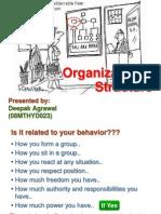 7organizationalstructuredeepakagrawal-1256967597572-phpapp01
