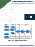 Metodología de clasificación de los macizos rocosos