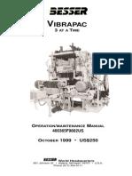 Vibrapac Maintenance Manual