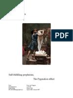 Educational Research self-fulfilling prophecies