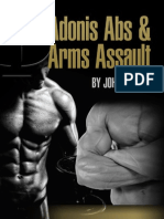 Abs and Arms Assault 4 Week Program