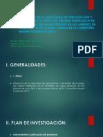 INFLUENCIA DE LA VELOCIDAD DE PERCOLACIÓN Y DENSIDAD
