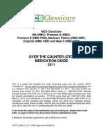 MCS 2011 OTC Medication Guide