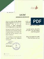Madar Certificates