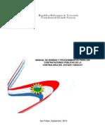 Manual de Contratacion Publicas Estado Yaracuy