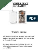 Transfer Price 12-2-14