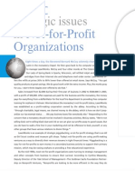 Not for Profit Organizations