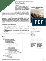Guerra de La Independencia Argentina - Wikipedia, La Enciclopedia Libre