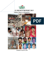 Human Rights Report 2013 - Odhikar Report on Bangladesh