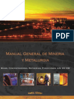 Manual General de Mineria y Metalurgia