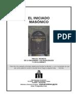 Iniciado Masónico, El - Lopez de Rojas & Riera