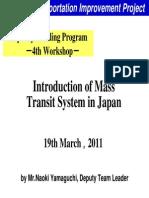 Mass Transit System in Japan