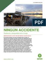 Ningun Accidente - Resiliencia y Desigualdad Ante El Riesgo