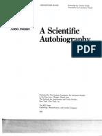 Rossi Aldo a Scientific Autobiography