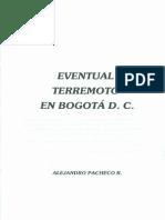Eventual Terremoto en Bogotá