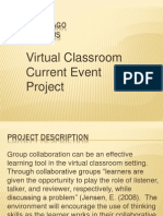 virtual classroom current event collaboration project