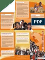 Brochure Interculturalidad