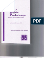 Canter (1993) a History of the Division of Psychotherapy