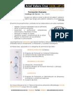 Catálogo Cursos Formación 2014 REVISIÓN 2 - Ariel Valero Cruz