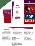 FOLDERiniciação ao curso de letras INGLÊS