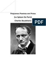 Baudelaire Paris Spleen