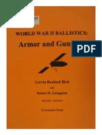 WWII Ballistics