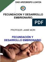 Fecundacion y Desarrollo