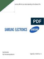 Samsung c 6625 Eng
