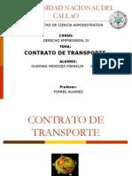 Contratos de Trasporte