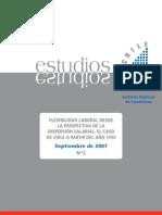 Flexibilid Laboral Dispersion Salarial
