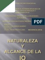 Naturaleza y Alcance de La IO