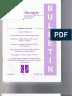 Psychotherapy Bulletin 31(1) Winter 1996