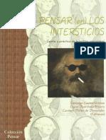 Pensar (en) los Intersticios- Teoría y práctica de la crítica poscolonial