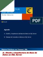 mejorespracticassql-130801181055-phpapp01