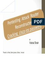 Router Hacking