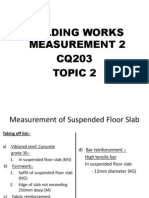 Topic 2; Measurement Suspended Floor Slab
