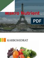 1. Macro Nutrients