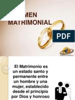Regimen Matrimonial