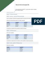 Manual Referencia Lenguaje SQL