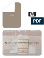 HP Color LaserJet 9500 9500 MFP Service Manual
