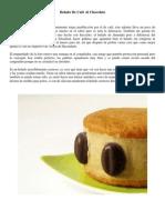 Helado De Café Al Chocolate