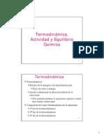 Termodinamica-EquilibrioQuimico