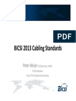 Bicsi Sp 2013 Cabling Standards Peter Meijer - Monday 18 March 2013