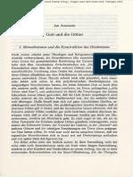 Assmann Gott Und Die Goetter 2007