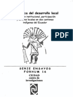 La Politica Del Desarrollo Local 01-Ramirez