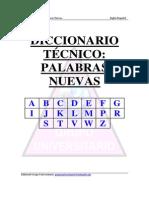 Diccionariio Tecnico - Palabras Nuevas Ingles-Español