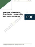 Porteros Automaticos Instalacion Reparacion 21602