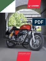 Eicher motors Annual Report - 2013