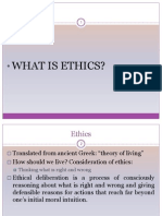 Ethics - Lecture 1